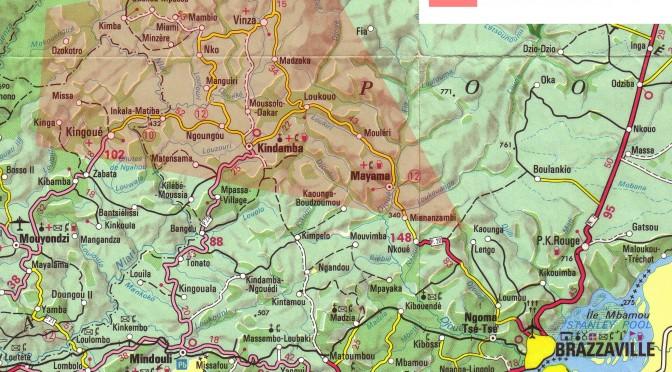 mappa progetto Congo